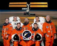 STS-100 Official NASA Crew Photograph